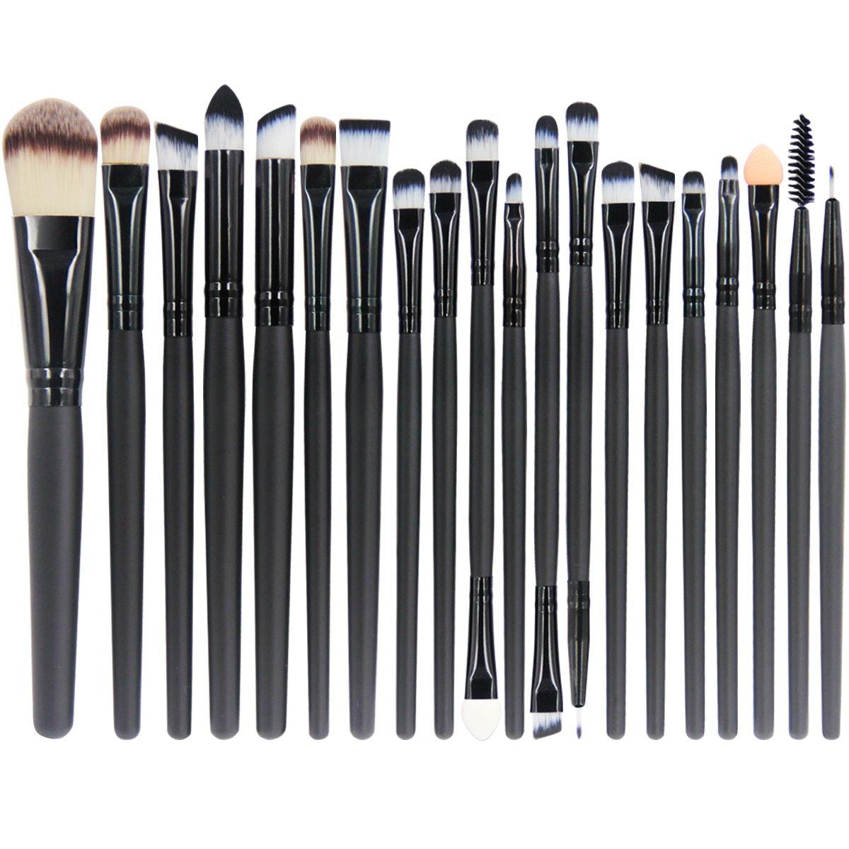 EmaxDesign Makeup Brush Set (20-Piece Set)
