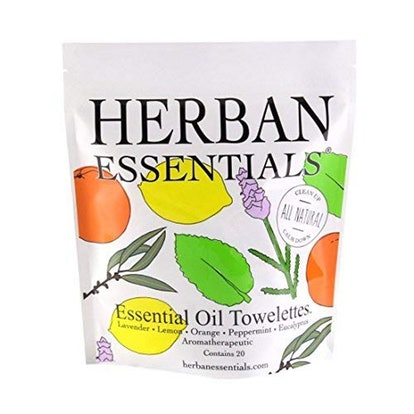 Herban Essentials Essential Oil Towelettes (20-Pack)