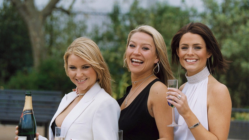 'Footballers Wives' cast