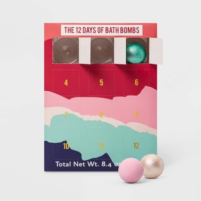 Advent Calendar Bath Bomb with Shimmer