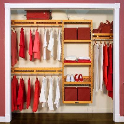John Louis Home JLH-530 12in Deep Simplicity Closet Organizer