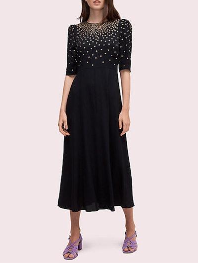 Crystal Bodice Dress
