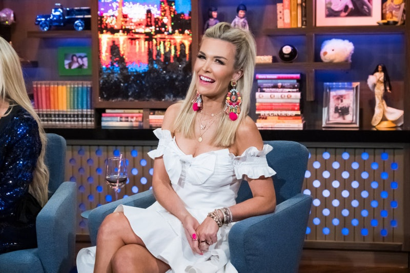 Tinsley Mortimer at Watch What Happens Live with Andy Cohen in July 2019