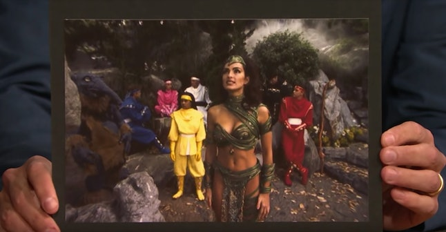 Mariska Hargitay was almost in the 'Mighty Morphin Power Rangers Movie'