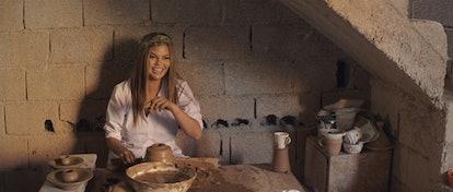 Breakfast, Lunch & Dinner - Season 1 Chrissy Teigen making pottery in Marrakesh