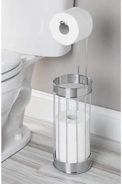 InterDesign Bruschia Free Standing Toilet Paper Holder