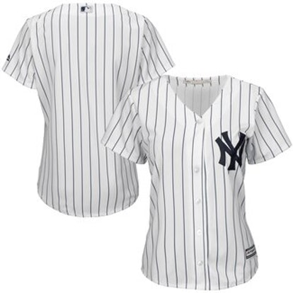 Women's New York Yankees Majestic White Home Cool Base Jersey