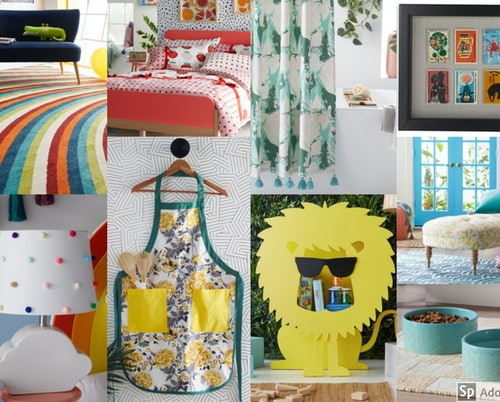 The Drew Barrymore Flower Home line at Walmart features fun and innovative home decor designs.