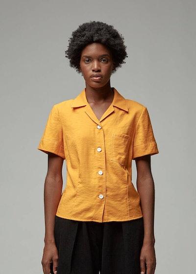 Short Sleeve Bowling Shirt
