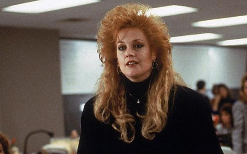 Melanie Griffith in Working Girl