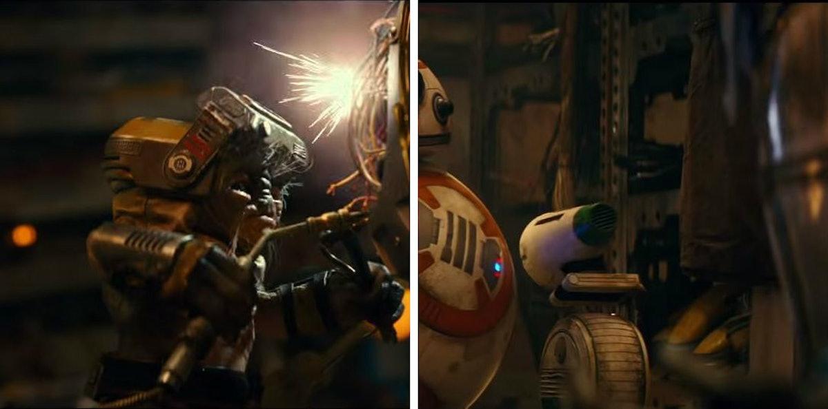 Screenshots from Star Wars: The Rise of Skywalker trailer