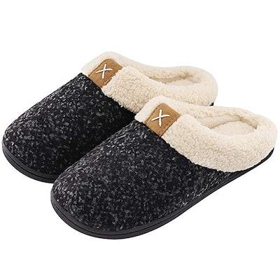Ultraideas Cozy Memory Foam Slippers