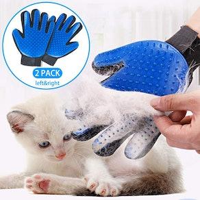 StarRoad Pet Grooming Glove (2 Pack)