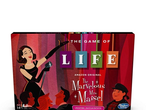 The Game Of Life: 'The Marvelous Mrs. Maisel' Edition lets you live your best comedian life inspired by the hit Amazon Prime show.