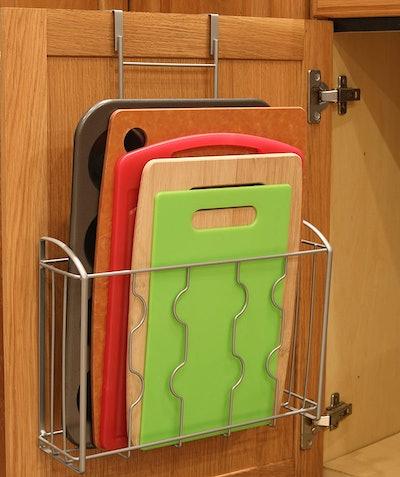 SimpleHouseware Over the Cabinet Door Organizer