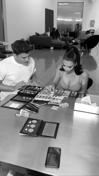 A new KKW x Mario palette is coming.