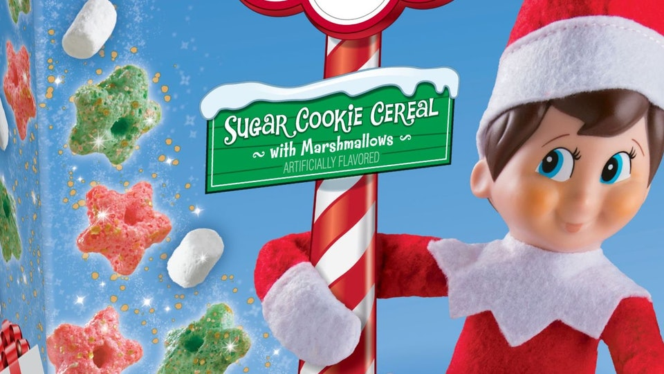 Elf On The Shelf Cereal
