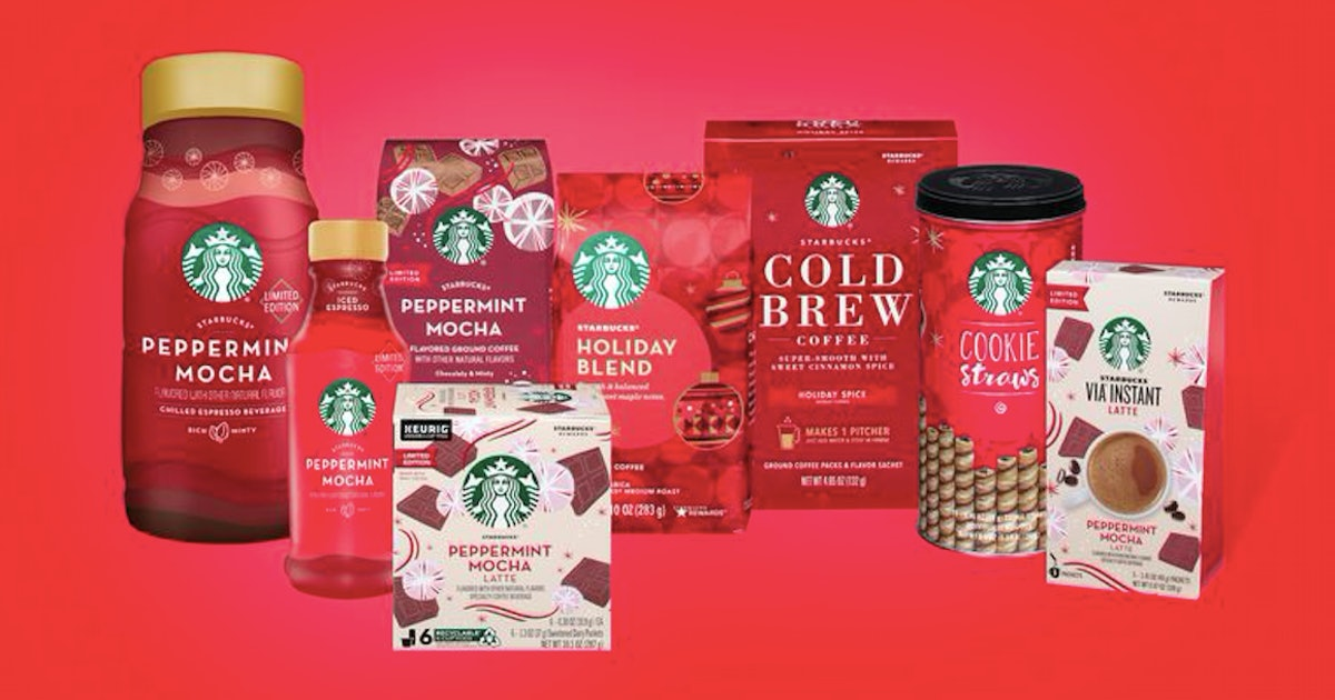 Starbucks' Holiday Products Are Arriving At Grocery Stores