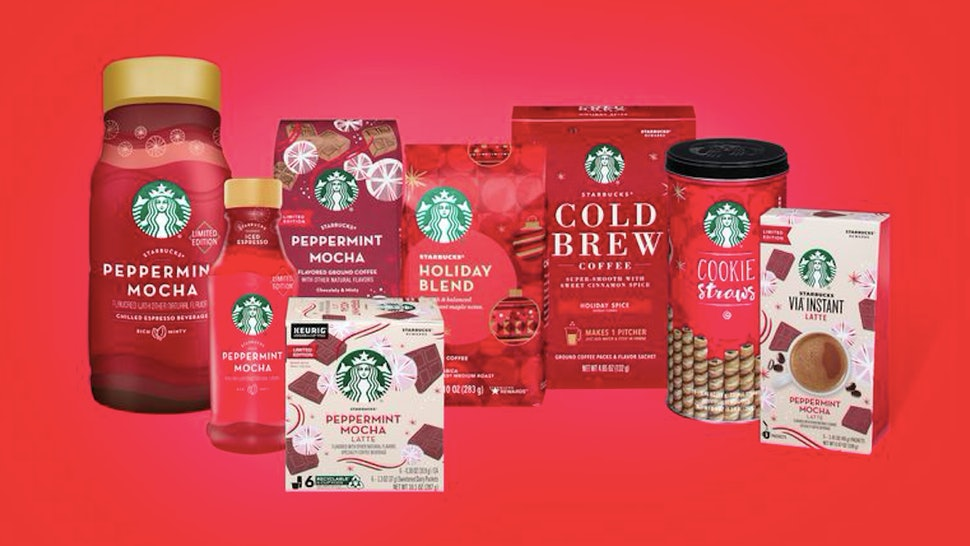 Starbucks' holiday lineup for 2019 has hit grocery stores nationwide.