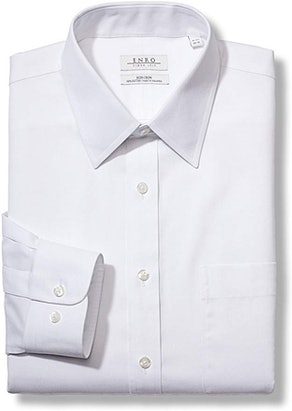 Enro Men's Long  Classic Fit Collar Dress Shirt