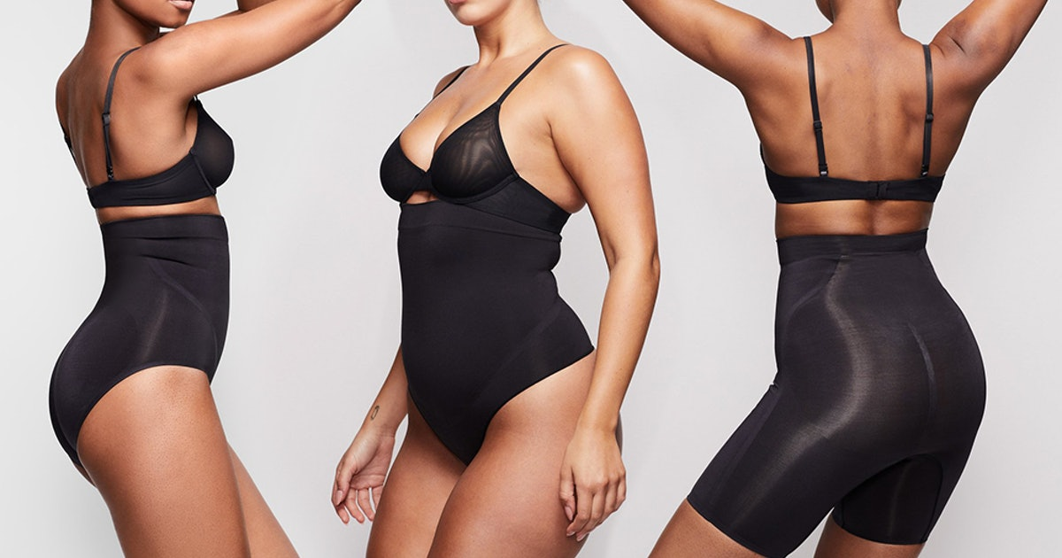 What's In The SKIMS Contour Bonded Collection? Kim Kardashian Is At It Again