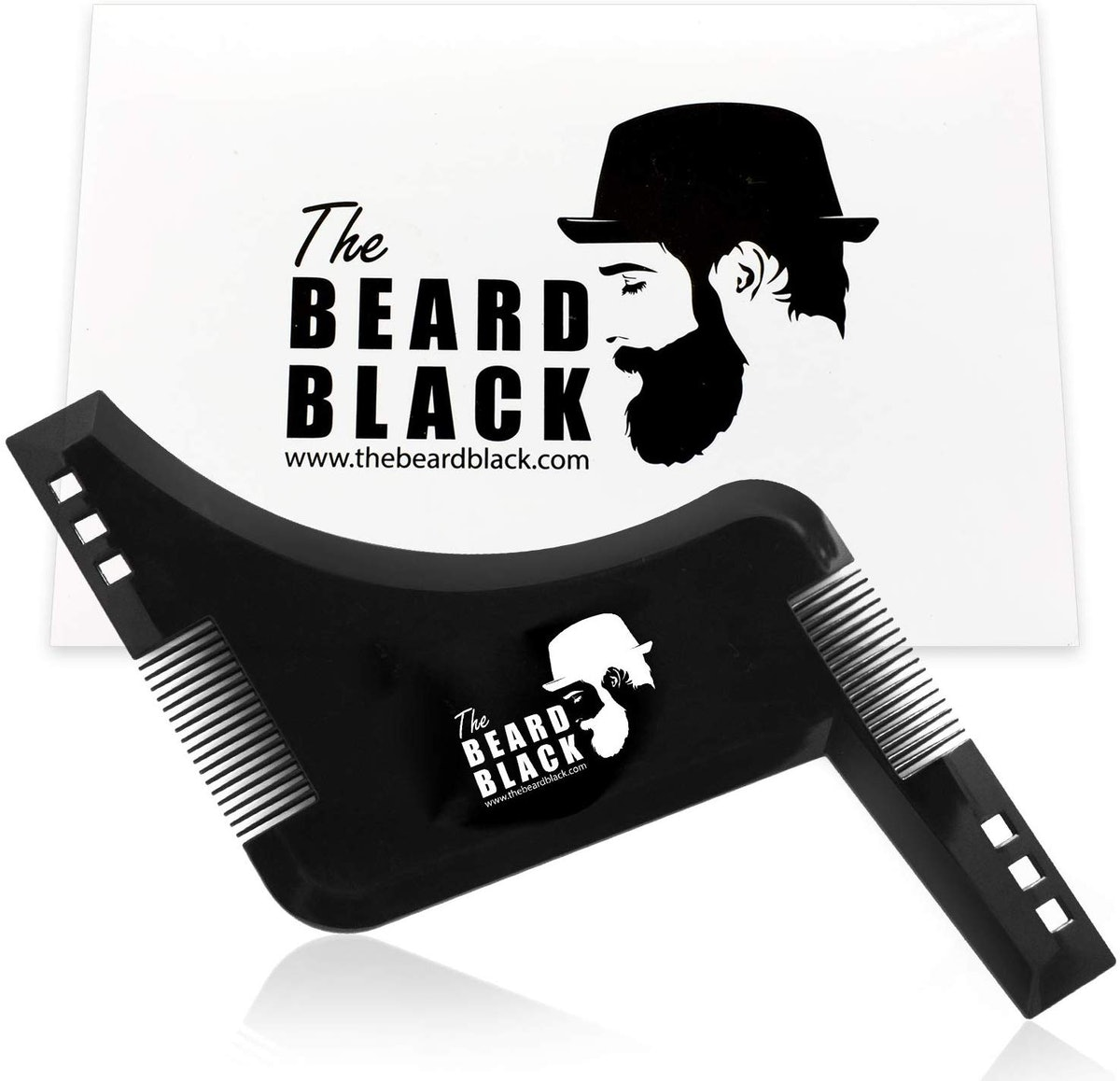 The Beard Black Shaping And Styling Tool