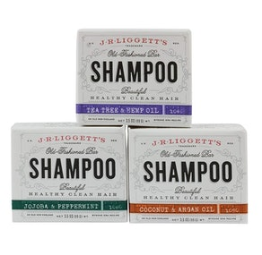 J.R. Liggett's Old Fashioned Shampoo Bar (3-Pack)