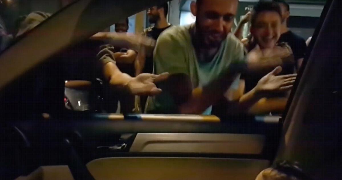 "Protestors Sang ""Baby Shark"" To Scared Toddler In Lebanon"