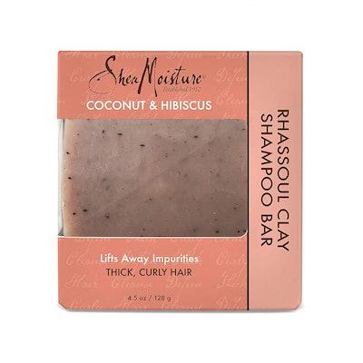 SheaMoisture Coconut & Hibiscus Rhassoul Clay Shampoo Bar