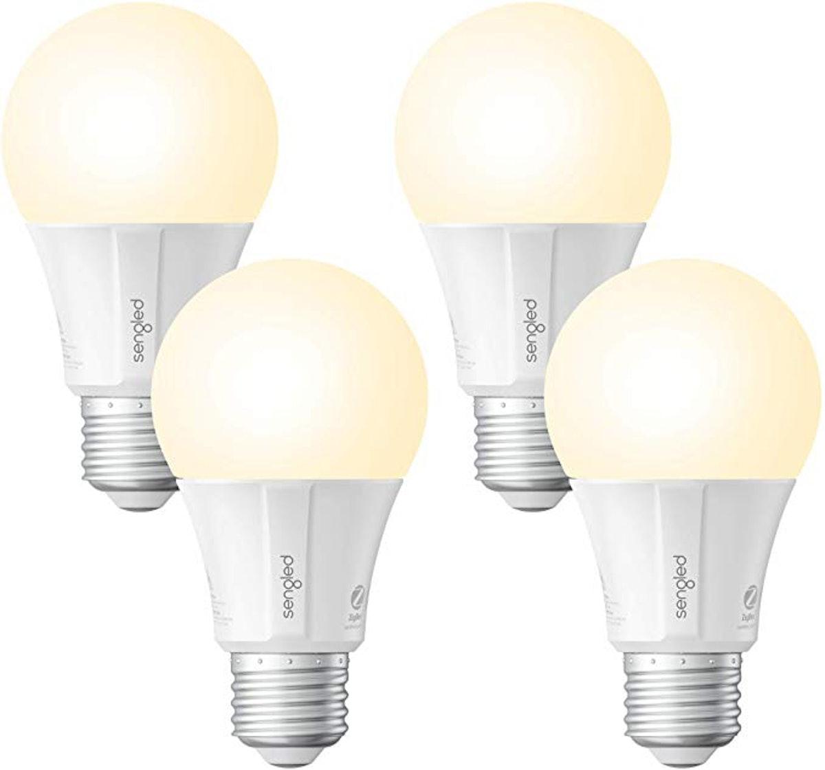 Sengled Smart LED Soft White A19 Bulb (4-Pack)