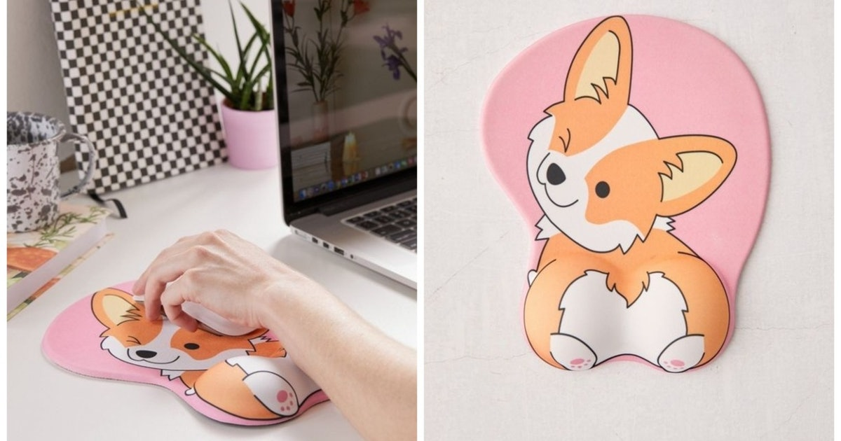 This Corgi Butt Mouse Pad Is All Kinds Of Cheeky