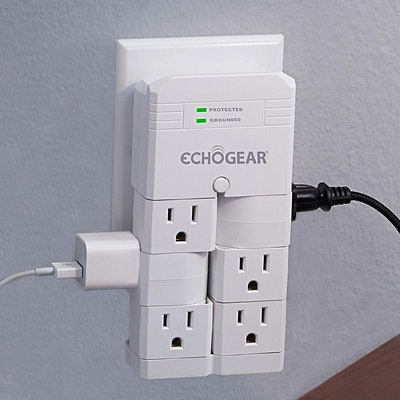 ECHOGEAR On-Wall Power Strip