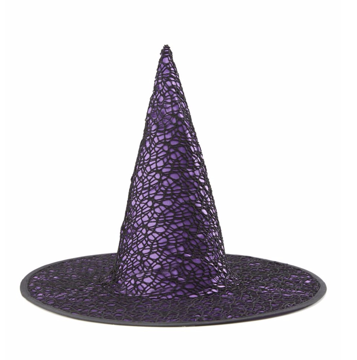 Purple Gothic Witch Hat