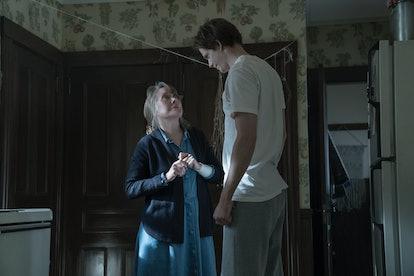 Ruth Deaver (Sissy Spacek) and The Kid (Bill Skarsgard) in 'Castle Rock' Season 1