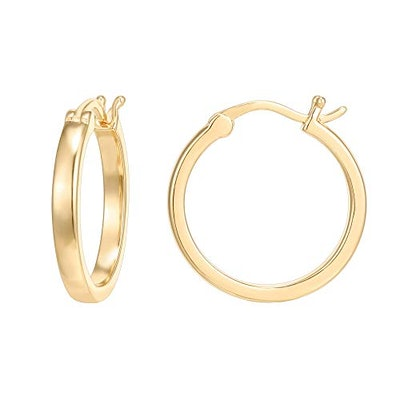PAVOI 14K Gold Plated Hoops