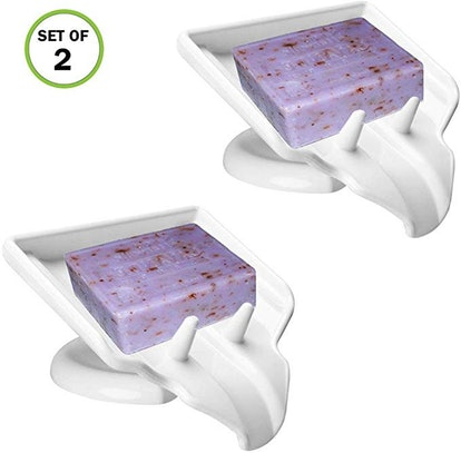 Evelots Soap Dish (2-Pack)