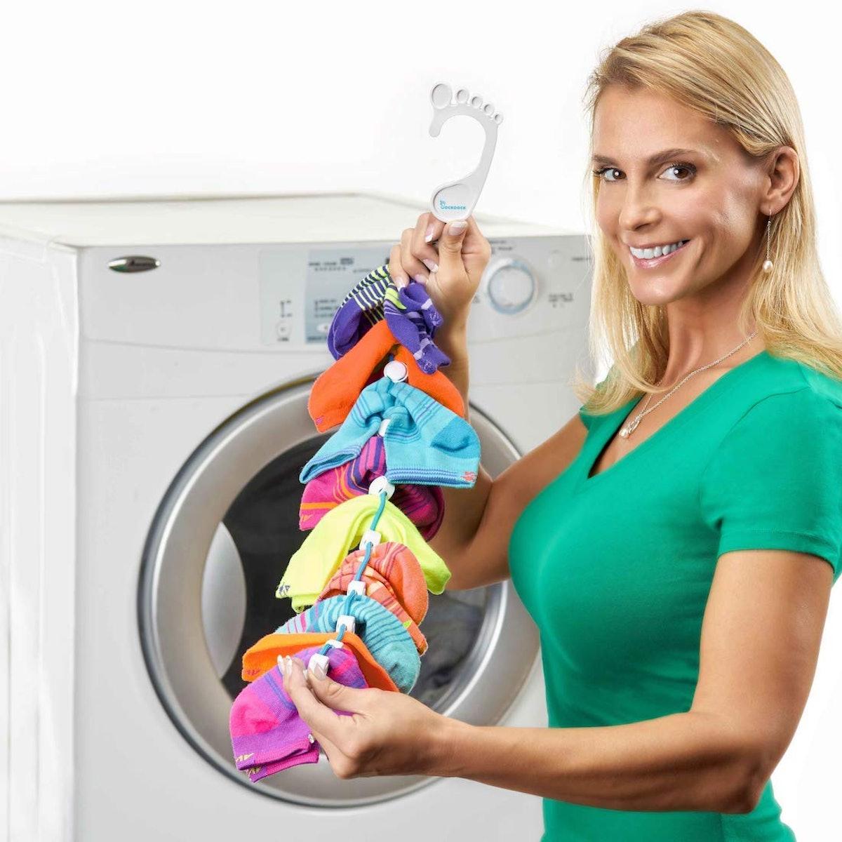 SockDock Dryer Sock Organizer (2-Pack)