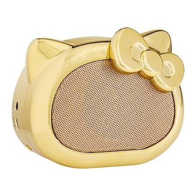 Hello Kitty® Bluetooth® Speaker, Gold