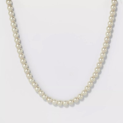A New Day Short Pearl Necklace