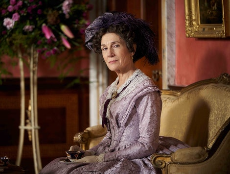 Harriet Walter stars in 'Belgravia,' a new drama from 'Downton Abbey' creator