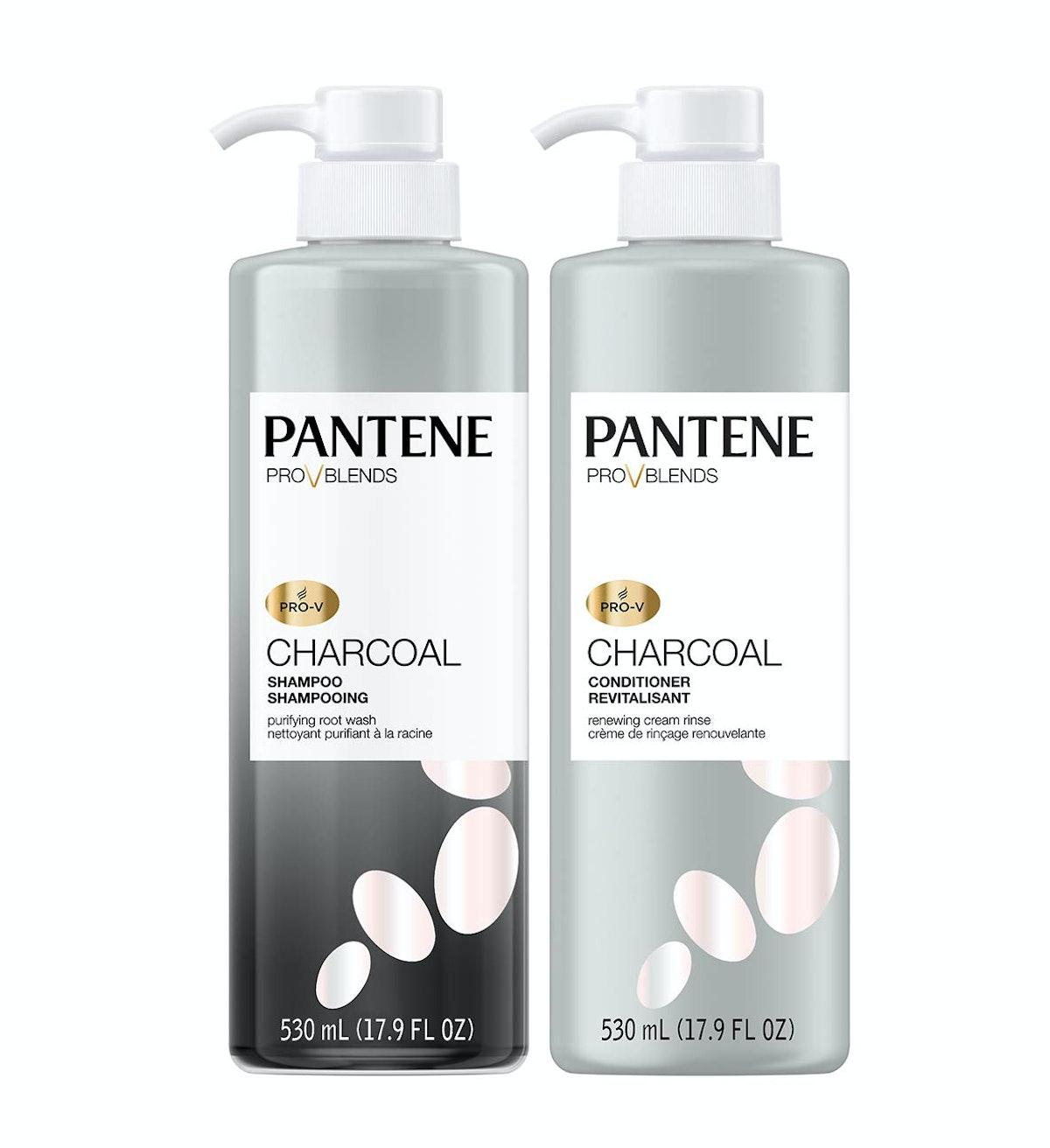 Pantene Charcoal Shampoo & Conditioner Set