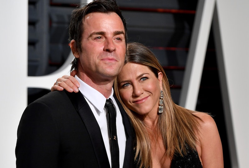 Justin Theroux didn't initially follow Jennifer Aniston's Instagram due to a glitch