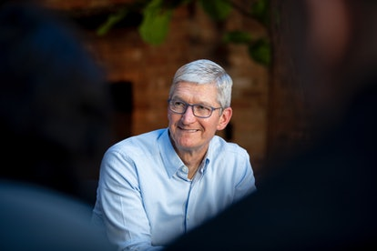 Tim Cook accepted an honor from Ceres on behalf of Apple for the company's impactful action on climate change.