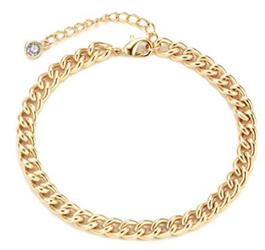 Gold Tiny Pearl Bracelet