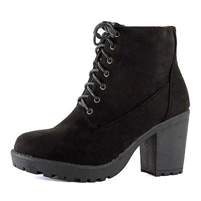 Platform Heeled Boots