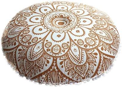 Lowprofile Indian Mandala Floor Pillow