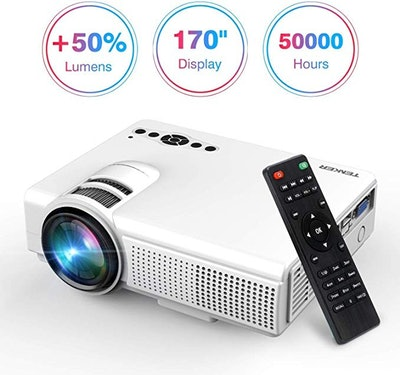 TENKER Upgrade Lumens Q5 Mini Projector