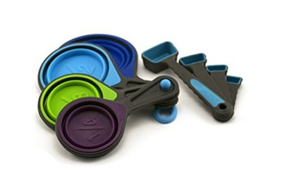 Ingeniuso Collapsible Measuring Cups and Spoons