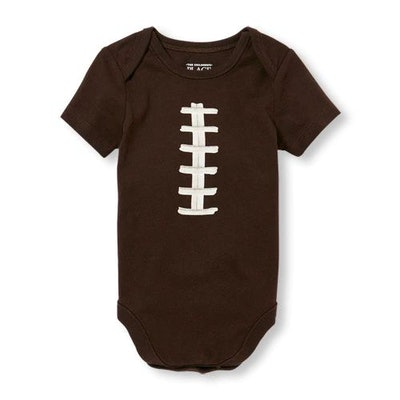 Baby Boys Football Graphic Bodysuit