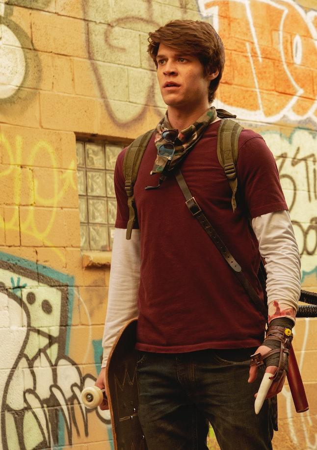 Colin Ford as Josh Wheeler in Netflix's new show, 'Daybreak'